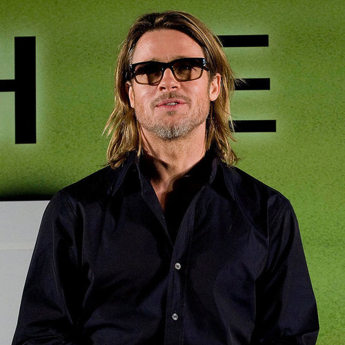 Brad Pitt Seoul Moneyball Press Conference Pictures
