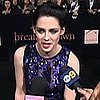 Breaking Dawn Part 1 LA Premiere (Video)