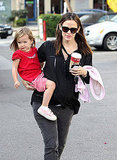 Jennifer Garner and Seraphina Affleck hung out in LA.