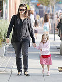 Seraphina Affleck is already walking!