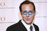 Will Arnett in goofy glasses.