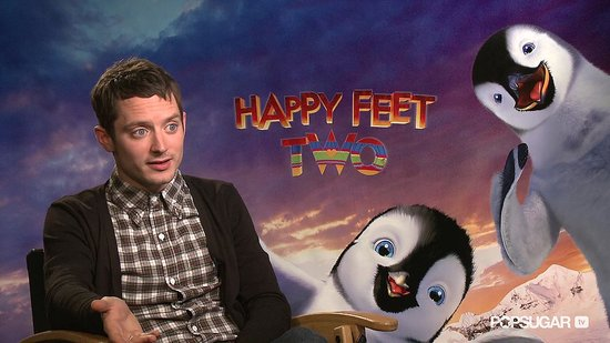 "Elijah Wood Talks Happy Feet Two and His ""Bizarre, but Oddly Normal"" Return to Being Frodo"