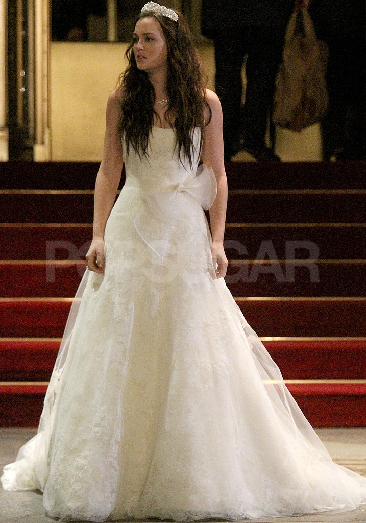 See Leighton Meester in Blair Waldorf's Wedding Dress For Gossip Girl!
