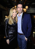 Jennifer Westfeldt and Jon Hamm stepped out together.