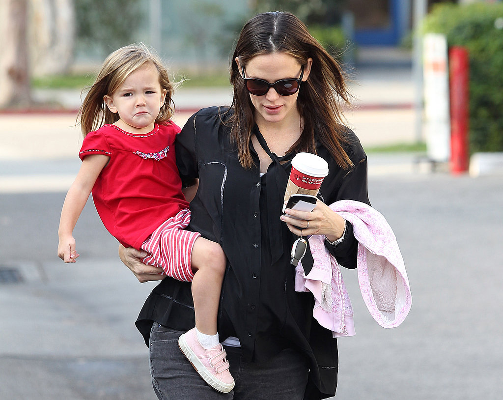 Jennifer Garner and Seraphina Affleck together in LA.