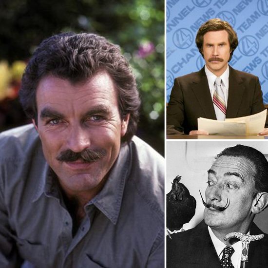 12 Marvelous Mustaches For Movember
