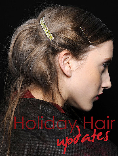 7 Easy Holiday Hair Ideas — Straight From the Runway