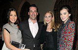 Jon Hamm, Jessica Biel, Jennifer Westfeldt, and Hailee Steinfeld took a group photo.