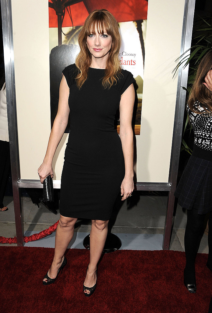 Judy Greer at The Descendants premiere in LA.
