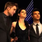 Kristen Stewart at Breaking Dawn London Premiere (Video)