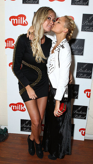 Nicole Richie with Masha Gordon at If Pockets Could Talk event.