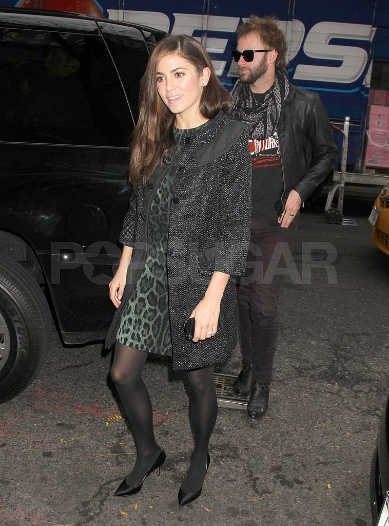 Nikki Reed and husband Paul McDonald in NYC.
