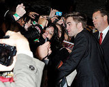 Robert Pattinson at the UK premiere of Breaking Dawn Part 1.
