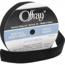 Offray Beacon Hill Velvet Ribbon 7/8