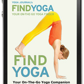Yoga Directory iPhone App From Yoga Journal