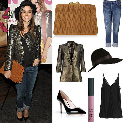 Get Rachel Bilson's Amazing Miu Miu Clutch and Outfit