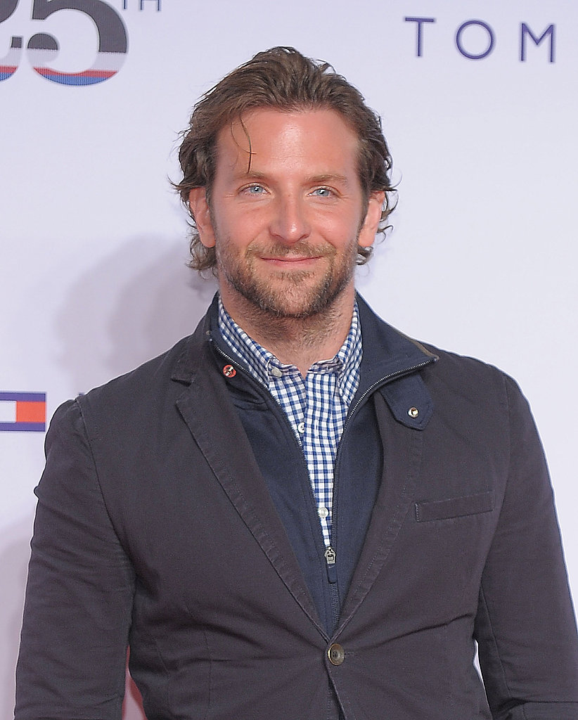 Bradley's eyes looked superblue at a Tommy Hilfiger event.