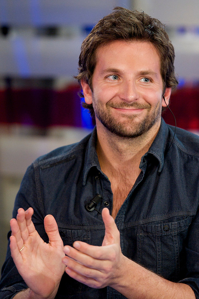 Let's give a round of applause for Bradley Cooper!