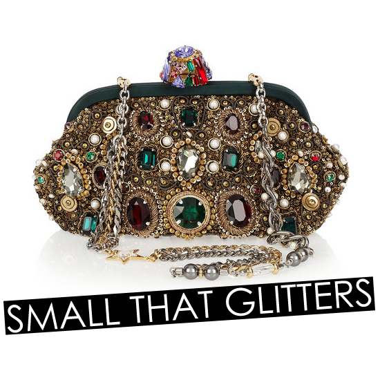 Add a Little Glamour to the Season With These Sparkly Clutches