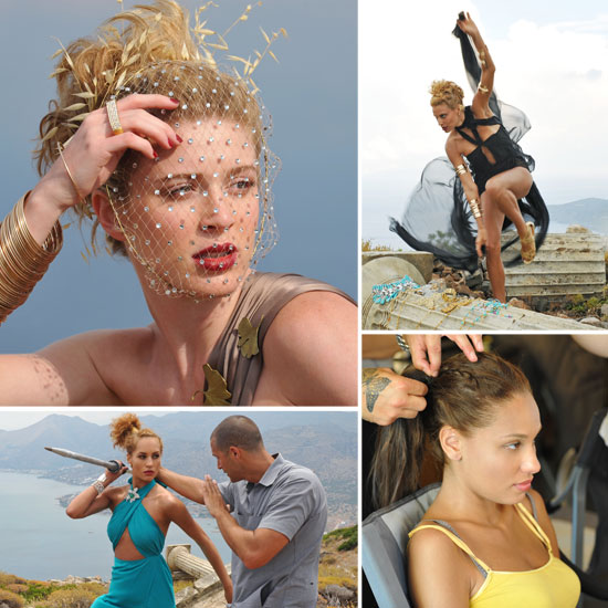 America's Next Top Model: The Girls Channel Ancient Olympians