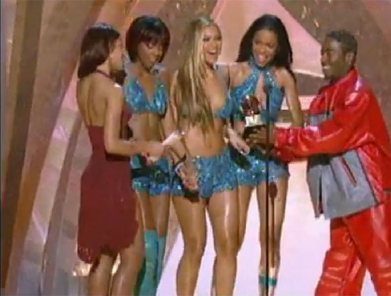 Beyoncé Knowles shared a favorite moment with Destiny's Child.