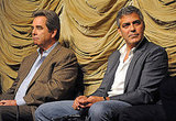 George Clooney and Beau Bridges took questions about their new film.