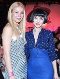 Gwyneth Paltrow with Fan Bingbing at a Coach party in China.