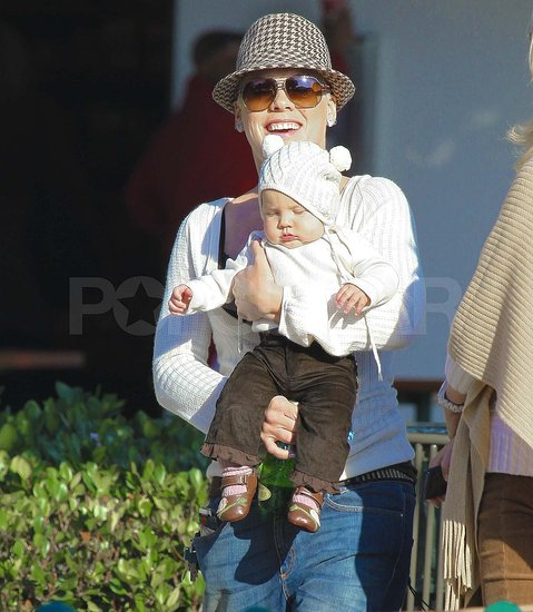 Pink and Baby Willow Land Their Happy Feet at a Malibu Park
