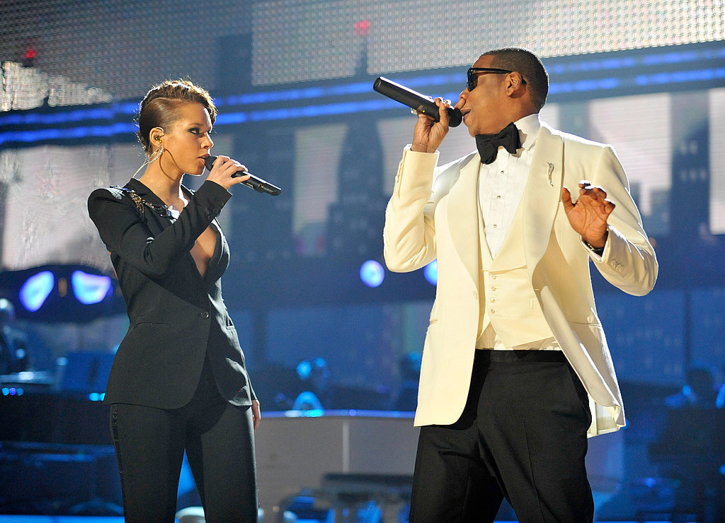 "Jay-Z and Alicia Keys performed their hit ""Empire State of Mind"" in 2009."