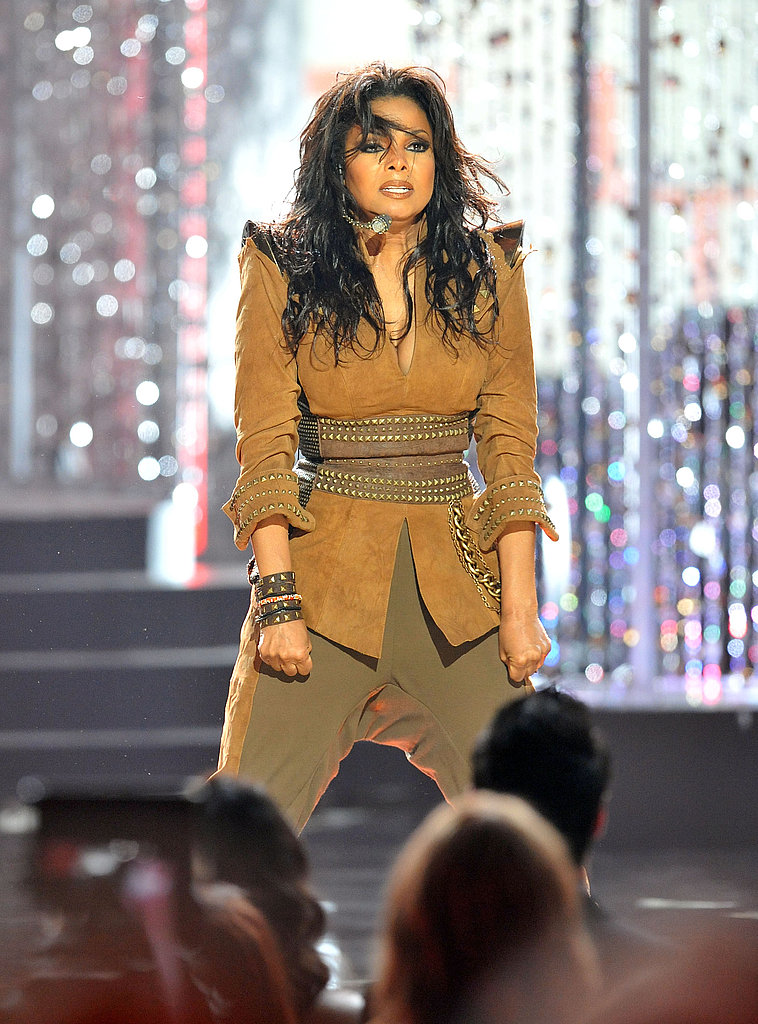 Janet Jackson performed at the 2009 show.