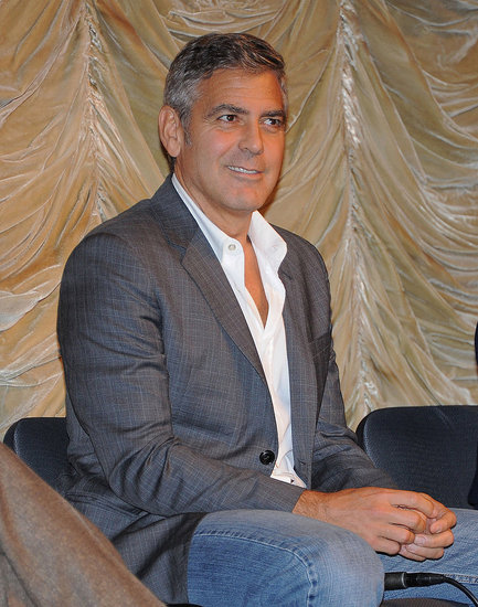 George Clooney attended a screening of The Descendants at LACMA.