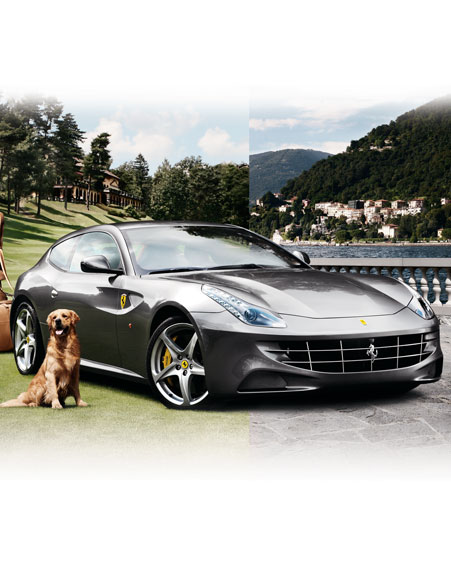 The 2012 Ferrari FF, Bespoke For Neiman Marcus