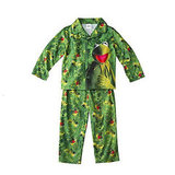 Kermit the Frog Coat Pajamas