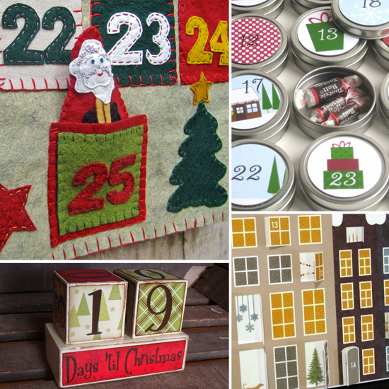 It's Go Time: 9 Beautiful Advent Calendars From Etsy