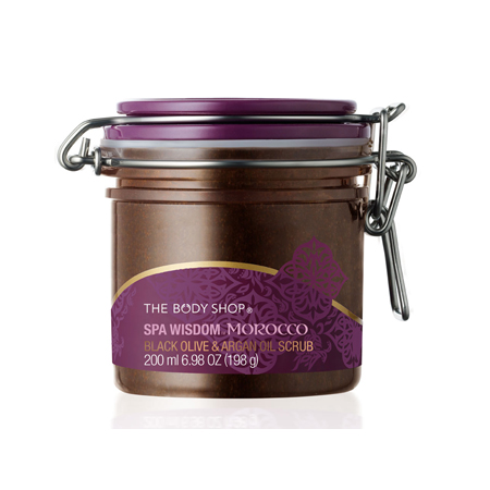 The Body Shop Spa Wisdom Morocco Black Olive & Argan Oil Scrub $44.95