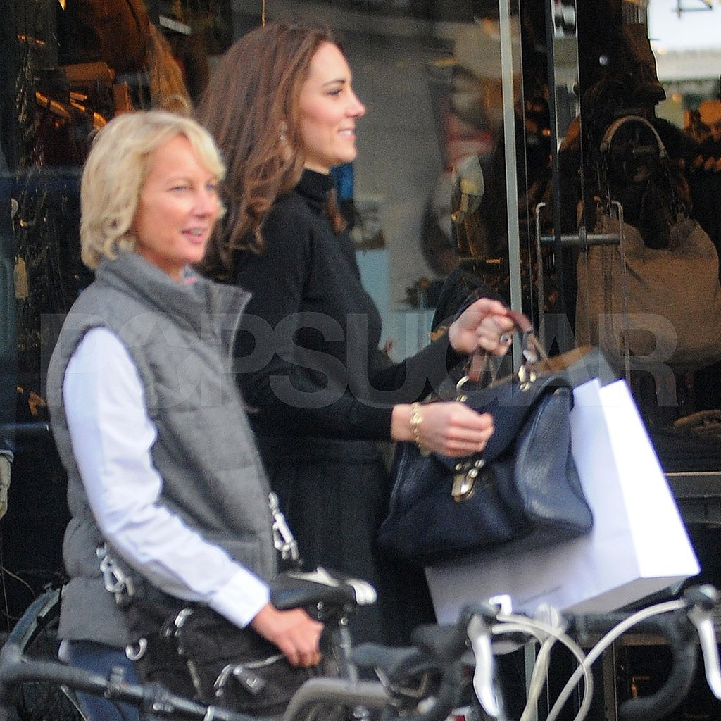Kate Middleton was out in London shopping.