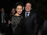 Jessica Biel and Jimmy Fallon together at GQ's Men of the Year party.