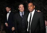 Justin Timberlake, Jimmy Fallon, and Jay-Z hung out at GQ's Men of the Year party.