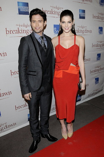 Ashley Greene and Jackson Rathbone Bring Breaking Dawn North