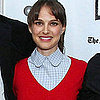 Natalie Portman Apartment Reading Postbaby Debut Pictures