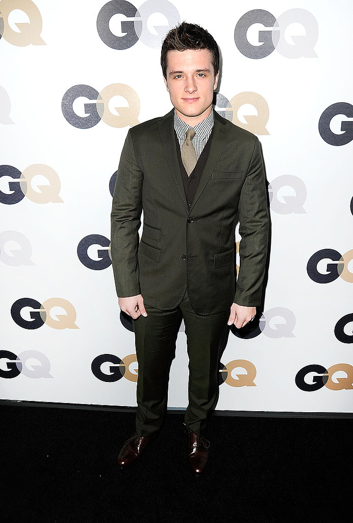 Josh Hutcherson at GQ's Men of the Year Awards.