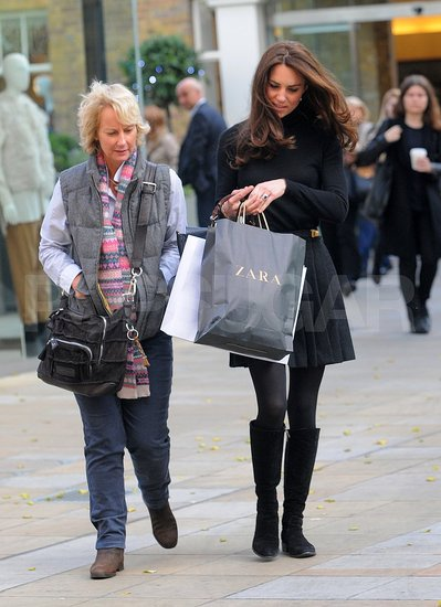 Kate Middleton Stops to Shop at Zara!