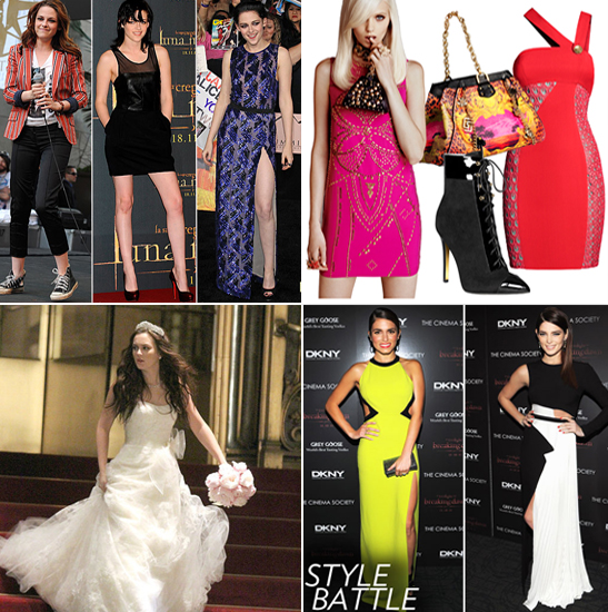 Fab Recap — Breaking Dawn's Glam Red-Carpet Style, Blair Waldorf's Vera Wang Wedding Dress, and More!