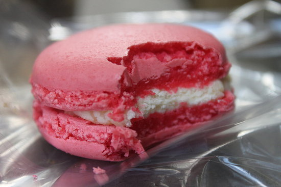 Rose Macaron