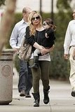 Sarah Michelle Gellar and Charlotte Prinze in LA.