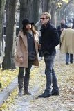 Eva Mendes and Ryan Gosling in Paris.