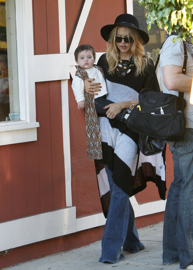 Rachel Zoe out in LA with Skyler.