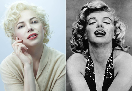 See the Stars of My Week With Marilyn Next to Their Real-Life Counterparts