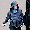 Jennifer Garner Pregnant in the Rain Pictures