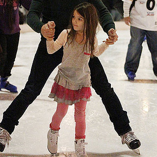 Suri Cruise Ice Skating Pictures